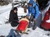 fast wie in St. Moritz die edlen Damen ... :-)