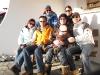 Gruppenfoto mit allen: Maja, Dani, Julia, Barbara mit Selina, Lea und Oliver